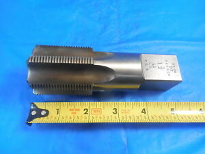 Budget P w 1 3 4 12 Ns 6 Flute Bottoming Tap Made In Usa Machine Shop Tools