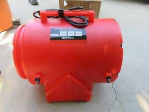 New Air Systems Cvf 12ac 12 Confined Space Axial Ventilation Fan Blower 115v