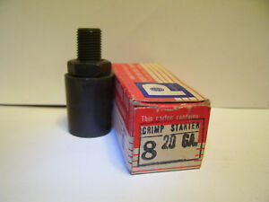 OLD STYLE CRIMP STARTER SPINDEX HEAD FOR PACIFIC HORNADY  RELOADER 20 GA 6 POINT
