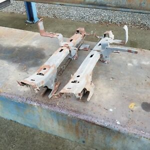 1954 1955 1956 Pontiac Buick Oldsmobile 2 Door Split Bench Seat Track Pair