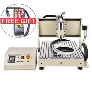 Usb Port 6040 1500w Cnc Router Engraver Machine Desktop Engraving Milling Rc