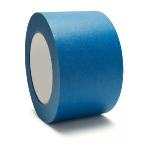 3 X 60 Yards Blue Painters Masking Tape 5 6 Mil 144 Rolls Free Shipping
