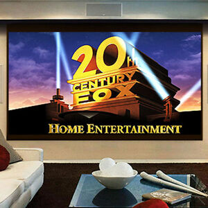 180 16 9 Projector Screen Home Theater Office Work Outdoor Movie Projection
