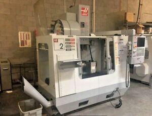 2008 Haas Vf 2 Cnc Vertical Machining Center