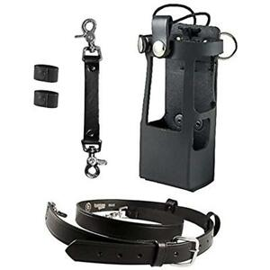 Boston Leather Bundle Three Items Anti sway Strap For Radio Strap Belt for