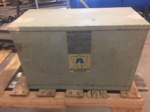 15 Kva 3 Ph 480 Volt Primary To 208y 120 Volt Second Transformer Acme Electric