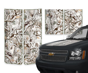 Chevy Avalanche Truck Racing Stripes Hood Tailgate Decals Buck Camo 00 06 Green