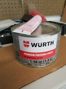 Wurth Premium Finishing Putty 1 5l