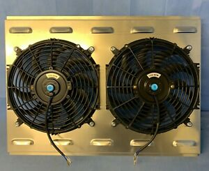 26 X 19 Universal Cross Flow Shroud Dual 12 Fan Usa Made 2900 Cfm