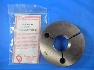 New Vermont 1 1 4 20 Un 3a Thread Ring Gage 1 250 No Go Only Pd 1 2140
