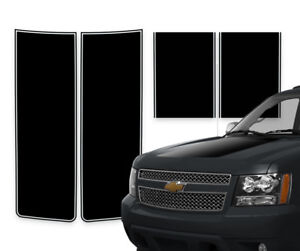 Chevy Avalanche Truck Racing Stripes Rally Decals Black Pinstripe 2000 2006