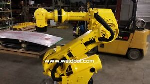 Fanuc R2000ia 210f 6 Axis Robot With Rj3ib Controller Tested Warranty
