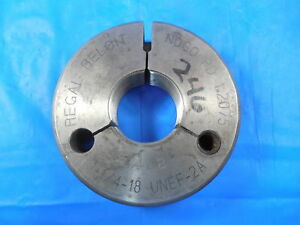 1 1 4 18 Unef 2a Thread Ring Gage 1 250 No Go Only Pd 1 2075 Inspection