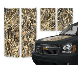 Chevy Avalanche Truck Racing Stripes Decals Tall Grass Camo Pinstripes 2000 2006