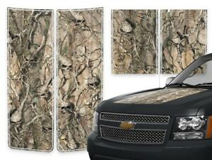 Chevy Avalanche Truck Racing Stripes Decals Creepy Skull Camo Pinstripes 2000 06