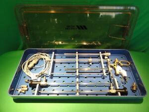 Acmi Circon St cr Hysteroscopy Tray Gold Scope And Other Pieces