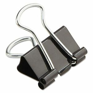 288 pack Mini Universal Steel Wire Binder Clips 1 4 Capacity 1 2 Wide Double