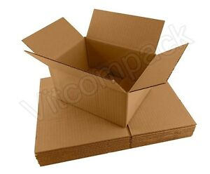 Set Of 100 200 Package Delivery Box Boxes Cardboard Shipping Mailing Moving