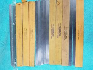 Feeler Or Thickness Gage Stock 1 2 X 12 Strips Total Strips 91