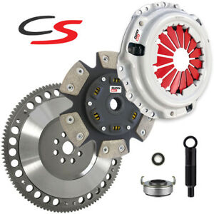 Cm Competition spec Racing Clutch Chromoly Flywheel Kit For Acura Honda B series