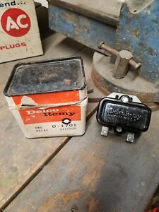 Nos Delco Remy D1701 1116809 Tractor Relay Allis John Deere Oliver Moline