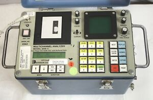 Davidson 2056 c Multichannel Analyzer Mca Passes Self Test Nai tl Or Ge Probes