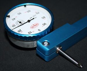 Engine Lathe Tool Post Dial Indicator Mount Axa Bxa With 1 travel Dial Indicator