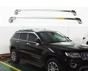 Stainless Steel Us For Jeep Grand Cherokee 2011 2018 Roof Rack Rail Cross Bar