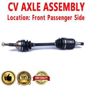 Rear Passenger Side Cv Axle Shaft For Pontiac Fiero Automatic Transmission