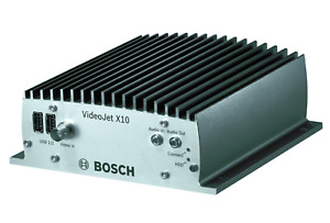 Bosch Videojet X10 Video Encoder Vjt x10s H 264 Analog To Digital Cctv Rugged