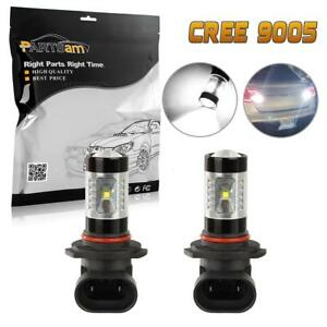 1pair 9005 Hb3 9005xs Replacement Lamp For Fog Driving Light White Led