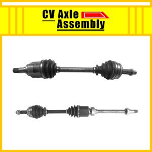 Front Pair Cv Axle 2 Pcs For 2000 2005 Toyota Celica Automatic Transmission Gt
