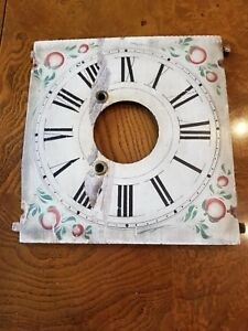 Old Wood Painted Clock Face See My Others In Collection Nice