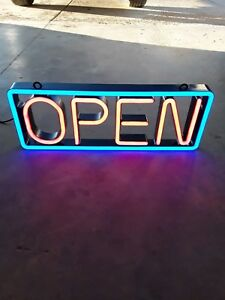 Led Open Sign Flashing Rolling Open Business Sign 2 Feet Long 9in Tall