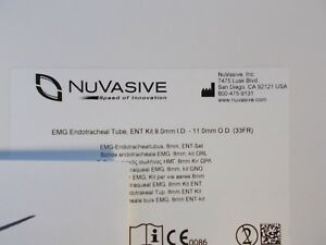 Nuvasive Emg Endotracheal Tube Ent Kit 2010480