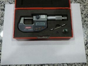 Nice spi 13 731 5 Ip65 Electronic Digital 0 1 Outside Micrometer W cal Rod