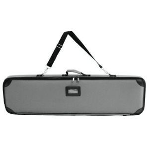 Grey Travel Silver Bag For 48 Width Deluxe Retractable Roll Up Banner Stand