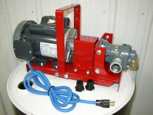 New Redline Oil Transfer Pump 3 4 Hp 1 Ports 16 Gpm waste Oil Heaters burners