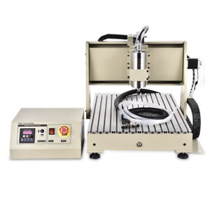 4 Axis Usb Cnc 6040 1 5kw Router Milling Machine 3d Engraver Engraving Drilling