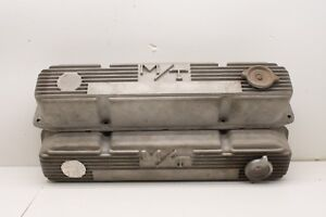 M t Mopar Valve Covers Vintage Mickey Thompson Big Block Chrysler 440 Rb