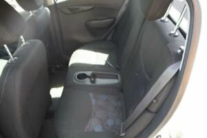 2016 Chevy Spark Rear Back Seat Bench Black Cloth Fabric 588234