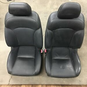 2006 2013 Oem Lexus Is250 Black Leather Front Seats Heated Cooled Local Pick Up