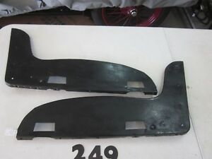 1930 1931 Ford Model A Coupe Steel Seat End Plates