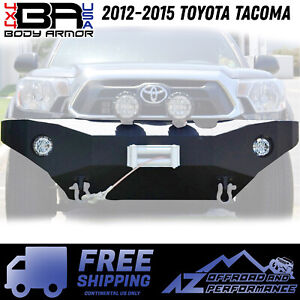 Body Armor 4x4 Fits 2012 2015 Toyota Tacoma Front Winch Bumper