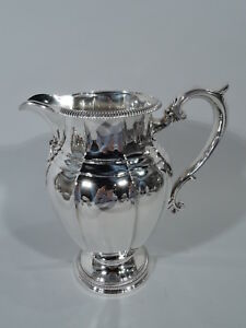 Gorham Water Pitcher 531 1 Antique Classical American Sterling Silver