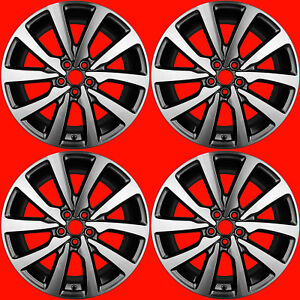 Oem 2017 2018 Lincoln Continental 18 Wheels Rims Factory Stock 10087 Gd9z1007a