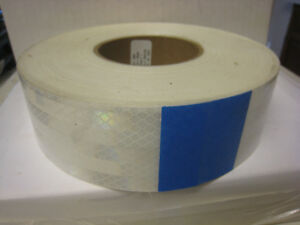 3m 983 10nl 2 In X 150 Ft Reflective Tape 2 Inch W White Price Is For 1 Roll