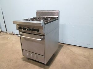 garland Sx 4 20 Heavy Duty Commercial nsf Natural Gas 4 Burners Stove W oven