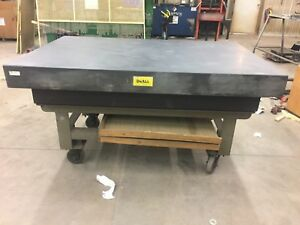 Doall Granite Inspection Table With Stand