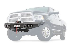 Warn Ascent Front Bumper For 2011 2018 Dodge Ram 2500 3500 100923